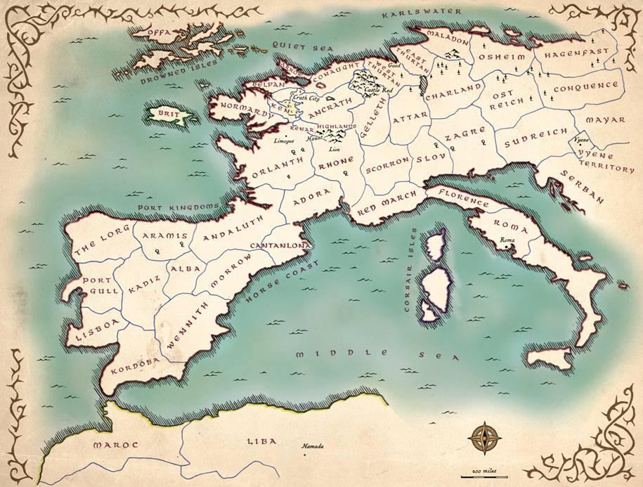Te Lawrence Map