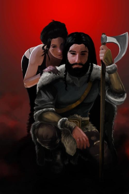 Aslaug and Snorri