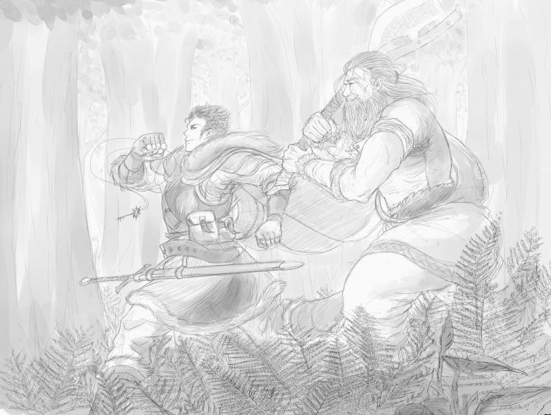 Jalan and Snorri