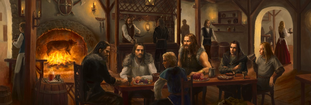 In the Self-Pub Fantasy Tavern: Dyrk Ashton
