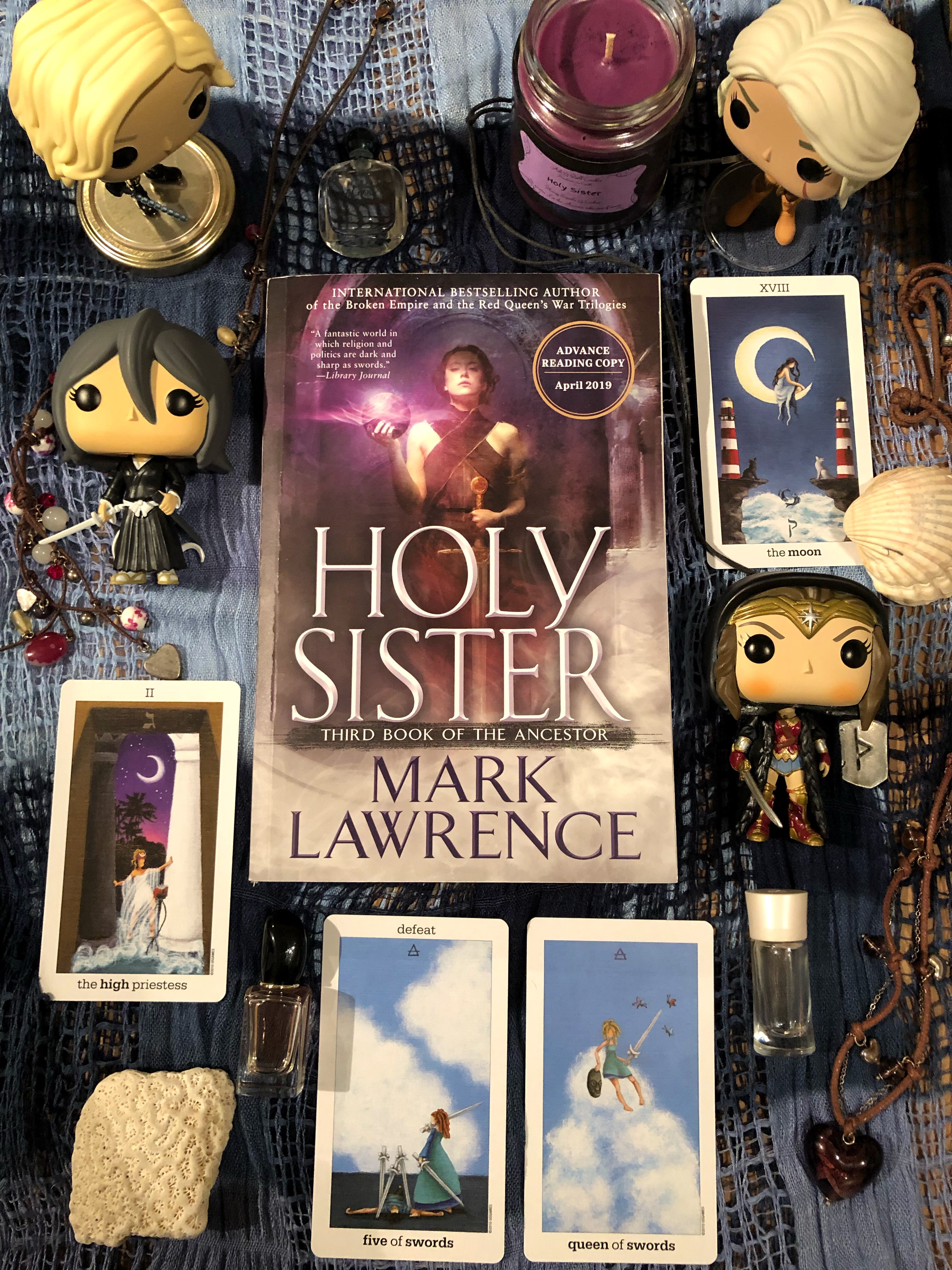 Signed Holy Sister ARC giveaway – that thorn guy