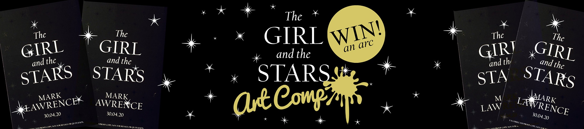Announcing the winner of the The Girl and the Stars Art Contest